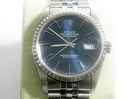 ROLEX MENS STAINLESS STEEL QUICKSET DATEJUST