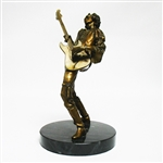LIMITED EDITION JIMI HENDRIX FRANKLIN MINT BRONZE