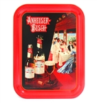 COLLECTIBLE ANHEUSER-BUSCH BUDWEISER TRAY