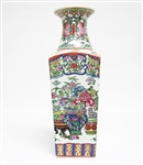 CHINESE HAND PAINTED VASE
