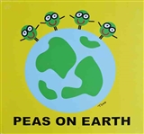 GOLDMAN ** PEAS ON EARTH ** CANVAS