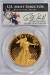 SPECIAL PCGS PR70DCAM 2011-W $50 GOLD EAGLE SIGNED BY US MINT DIRECTOR!