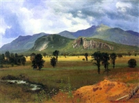 BIERSTADT ** MOAT MOUNTAIN INTERVAL NEW HAMPSHIRE ** CANVAS