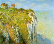 MONET ** CLIFFS ** CANVAS