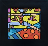 BRITTO ** UNTITLED ** FRAMED
