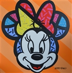 MORAIS ** MINNIE ** SIGNED ORIGINAL ACRYLIC