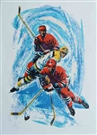 HARRY SCHAARE ** HOCKEY ** SIGNED SERIGRAPH