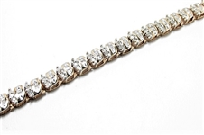2.5 CT DIAMOND GOLD TENNIS BRACELET