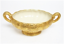 WEEPING BRIGHT GOLD BOWL