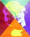 JARVINSKI *** MARILYN MONROE *** SIGNED CANVAS