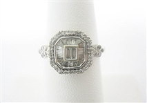 14K DIAMOND RING 1 C.T.W.