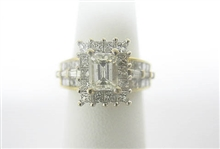 18K DIAMOND RING 1.25 C.T.W.