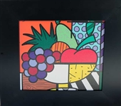 BRITTO ** FRUIT BASKET ** FRAMED