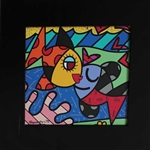 BRITTO ** KISSING FISH   **FRAMED