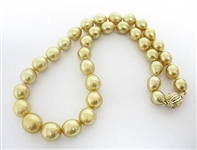 14K SOUTH SEA PEARL NECKLACE