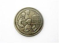 NOVELTY HOBO ART COIN