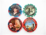 ASSORTED CASINO CHIPS