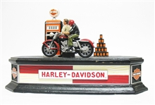 FRANKLIN MINT HARLEY DAVIDSON CAST IRON BANK
