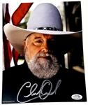 Charlie Daniels Autographed 8x10 Photo ACOA Authenticated