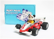 DISNEY MICKEY MOUSE FRICTION RACE CAR