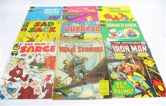 ASSORTED VINTAGE COMIC BOOKS