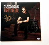 George Thorogood Autographed Album Cover ACOA Authenticated