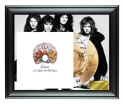 Queen Facsimile Autographed Gold Record Award