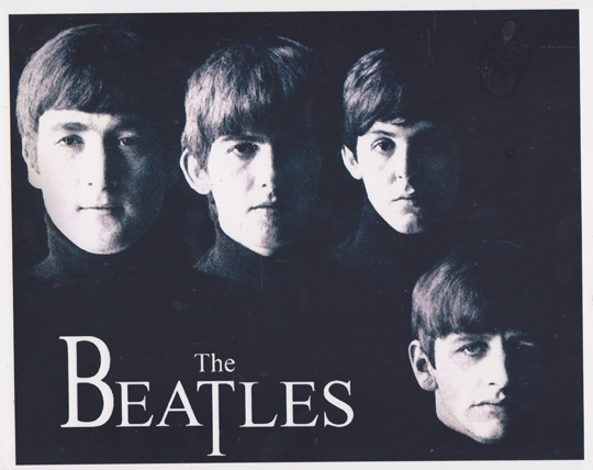 ALL FOUR BEATLES AUTOGRAPHS