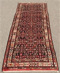 1960s Authentic Handmade Vintage Persian Meshg-Abad
