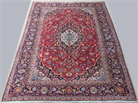 1960s Authentic Hand Woven Vintage Persian Qamsar