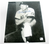 HAND SIGNED MICKEY MANTLE 8X10, GAI