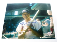 HAND SIGNED STAN MUSIAL 8X10