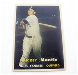 1957 TOPPS MICKEY MANTLE