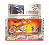 NEW IN BOX ARLEN NESS IRON LEGENDS MOTORCYCLE