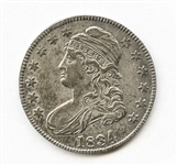 RARE 1834 CAPPED BUST HALF DOLLAR