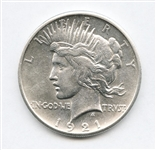 HIGH RELIEF 1921 PEACE SILVER DOLLAR