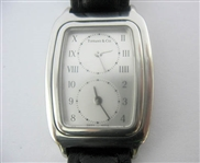 RARE TIFFANY & CO. LADIES DUAL TIME ZONE WATCH