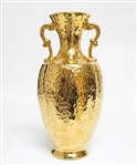 22K WEEPING GOLD VASE