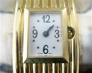 ALFRED DURANTE LADIES FRANKLIN MINT CUFF STYLE ART DECO WATCH