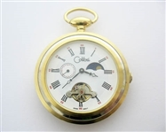 COLIBRI OF LONDON MOON PHASE COMPLICATION DIAL POCKET WATCH
