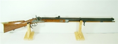 BEAUTIFUL ANTIQUE 1800S H. FAERBER BREMEN BLACK POWDER RIFLE