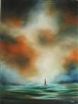 CUMPATA *** OPEN SEAS *** SIGNED ORIGINAL OIL PAINTING