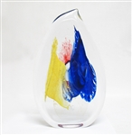 FRENCH ART GLASS SCULPTURE BY OLIVIER MALLEMOUCHE