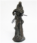 "SIGNED FREDERIC REMINGTON BRONZE STATUE ""THE MOUNTAIN MAN"""