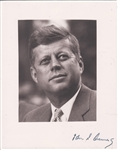 SIGNED JOHN F KENNEDY PHOTOGRAPH