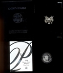 SUPERB GEM ULTRA CAMEO PROOF 1998-W $25 PURE PLATINUM EAGLE. BOX/COA
