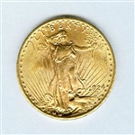 FULLY DEFINED 1924 SAINT GAUDENS $20 GOLD COIN