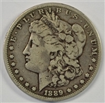 ULTRA RARE 1889-CC MORGAN SILVER DOLLAR IN NICE CONDITION
