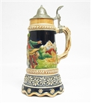 VINTAGE MUSICAL GERMAN BEER STEIN