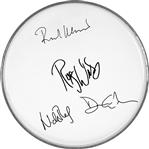 Pink Floyd Facsimile Autographed 12-inch Drumhead